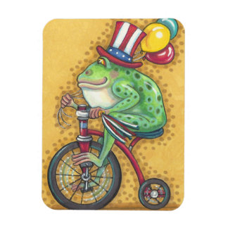 BULLFROG 4TH OF JULY, AMERICANA FROG MAGNET