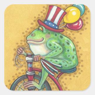 BULLFROG 4th Of July AMERICANA FROG STICKER Sheet