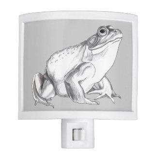 Bullfrog Nightlight Cute Frog Art Night Light