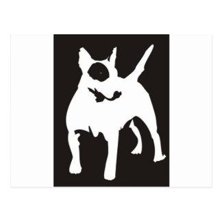 Bulli Terrier Postcard