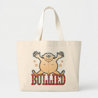 Bullied Fat Man Large Tote Bag