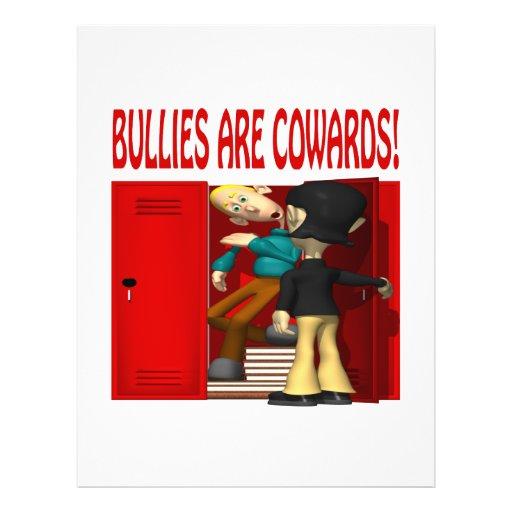 Bullies Are Cowards Flyers