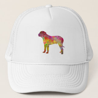 Bullma in watercolor.png trucker hat