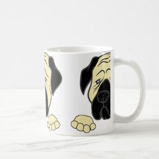 bullma peeking fawn.jpg coffee mug