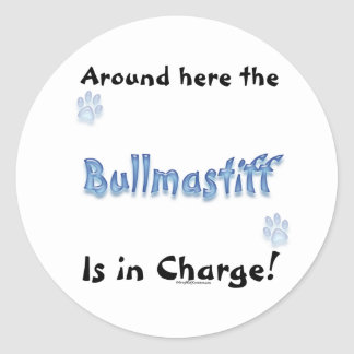 Bullmastiff Charge - Sticker