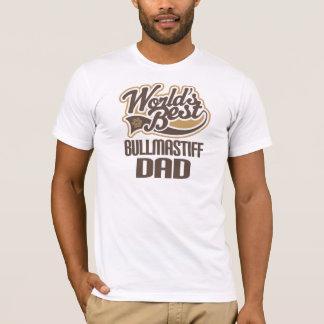 Bullmastiff Dad (Worlds Best) T-Shirt