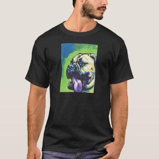 Bullmastiff Dog fun bright pop art T-Shirt