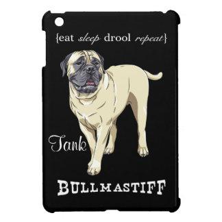 """Bullmastiff """"eat sleep drool repeat"""" iPad Mini iPad Mini Covers"""