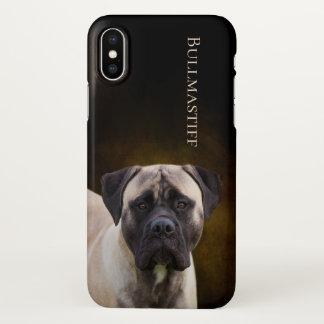 Bullmastiff iPhone X Case