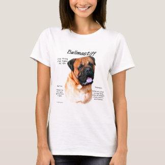 Bullmastiff (red) History Design T-Shirt