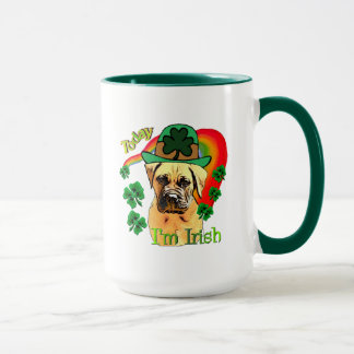 Bullmastiff St Patricks Day Mug