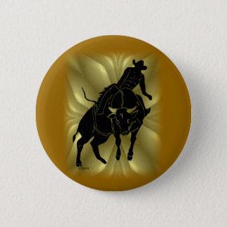 Bullrider 303 2 inch round button