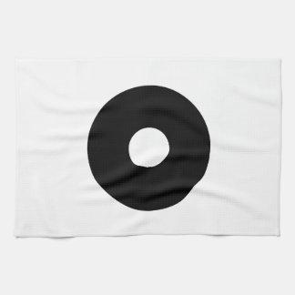 Bull's eye kitchen towel