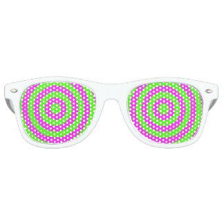 Bull's Eye Party Sunglasses