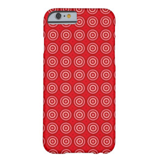 bulls-eye pattern iPhone 6/6s, Barely There Barely There iPhone 6 Case
