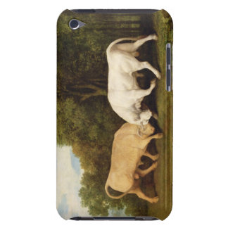 Bulls Fighting, 1786 (oil on panel) iPod Touch Case