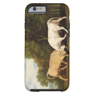 Bulls Fighting, 1786 (oil on panel) Tough iPhone 6 Case