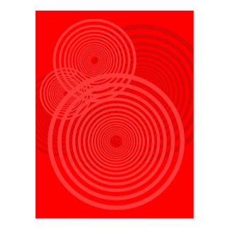 Bullseye Design Postcard