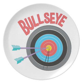 Bullseye Dinner Plate