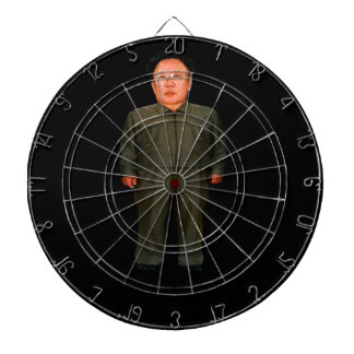 Bullseye! Kim John Il or is it Kim Jong Un?? Dartboard