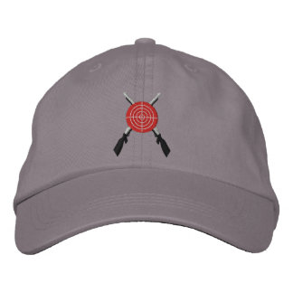 Bullseye Target 2nd  Amendment Embroidered Hats