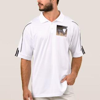 Bullterrier puppy polo shirt