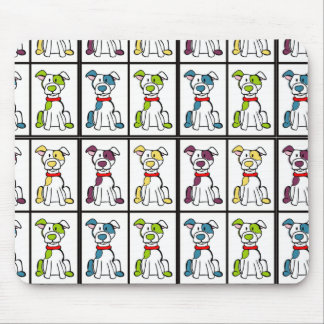 Bully Breed Pitbull Mouse pad