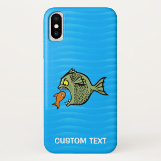 Bully Fish iPhone X Case