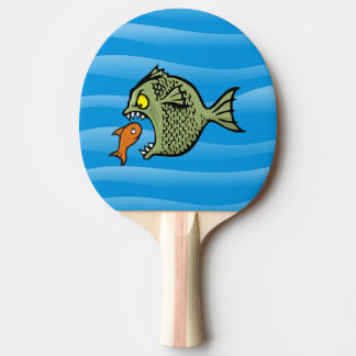 Bully fish ping pong paddle