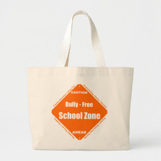 Bully - Free School Zone Large Tote Bag