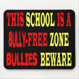 BULLY-FREE ZONE MOUSE PAD