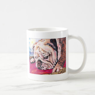 Bully on the Beach Coffee Mug
