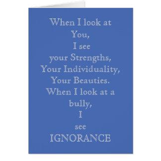 Bullying Card