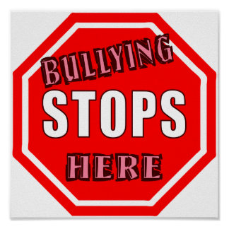 Bullying Stops Here Poster