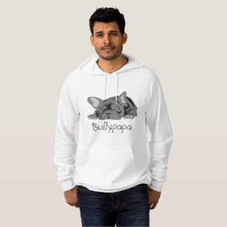 Bullypapa Black and White Hoodie