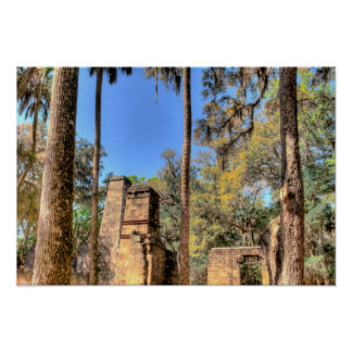 Bulow Plantation, Florida Poster