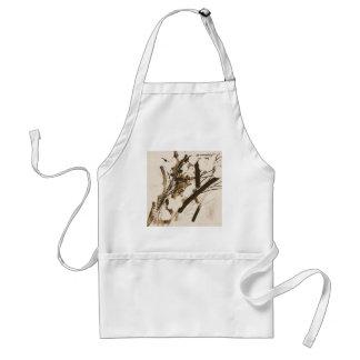 bulrushes standard apron
