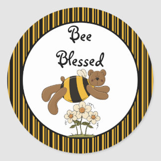 Bumble Bears Blessed Sticker