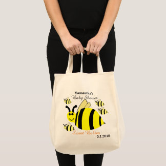 Bumble Bee Baby Shower Multiples Tote Bag