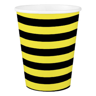 Bumble Bee Baby Shower Paper Cups