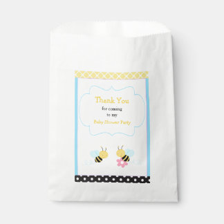 Bumble Bee Baby Shower Party Favour Bag