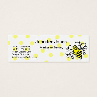 Bumble Bee Calling Card