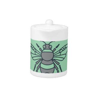 Bumble Bee Circle Mono Line