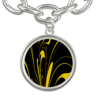 Bumble Bee Colors Charm Bracelet
