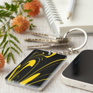 Bumble Bee Colors Keychain
