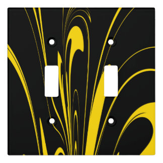 Bumble Bee Colors Light Switch Cover