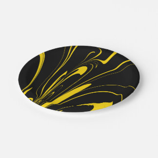 Bumble Bee Colors Paper Plate