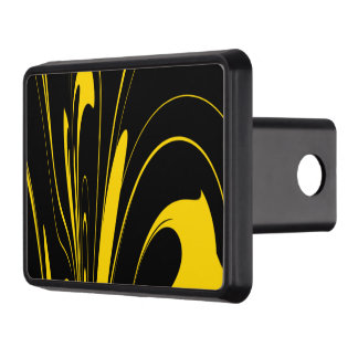 Bumble Bee Colors Trailer Hitch Cover