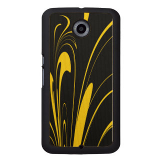 Bumble Bee Colors Wood Phone Case