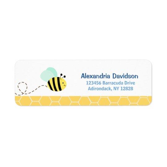 Bumble Bee Custom Address Labels